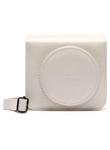Fujifilm Instax SQ1 Beyaz Deri Çanta Beyaz